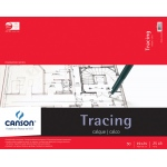"Canson® Foundation Series 19"" x 24"" Tracing Paper Pad; Binding: Fold Over; Color: White/Ivory; Format: Pad; Quantity: 50 Sheets; Size: 19"" x 24""; Texture: Smooth; (model C100510963), price per 50 Sheets pad"