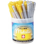 Gelly Roll® Gold/Silver Metallic Pen Display Assortment: Metallic, Gel, 1mm, Multi, (model S57412D), price per each