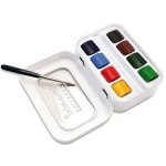 Sennelier Aqua Mini Watercolor Set; Color: Multi; Format: Pan; Type: Watercolor; (model SF10131618), price per set