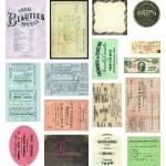7Gypsies Mini Ephemera: Credentials