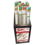 """Fredrix® Roll Canvas Gold Display Assortment: Metallic, Roll, 18 1/2""""d x 23 1/2""""w x 48""""h, Display, (model T9900D), price per each"""