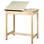 "Shain 37""h One-Piece Drawing Table (no Drawer)"