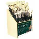 Dynasty® Interboro® Bristle Oil and Acrylic Brush 1500B Display Assortment; Length: Long Handle; Material: Bristle; Type: Display Assortment; (model FM10621D), price per each