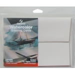 "Canson® Montval® Artist Series 5"" x 7"" Watercolor Cold Press Blank Cards 140 lb/300g; Color: White/Ivory; Envelope Included: Yes; Format: Card; Quantity: 6-Pack; Size: 5"" x 7""; Texture: Cold Press; (model C100511541), price per each"