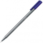Staedtler Triplus Fineliner Pen Set: Individual Color, Blue