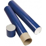 "Alvin® Indigo Fiberboard Tubes 37""; Color: Purple; Diameter: 5 1/2""; Length: 37""; Material: Fiberboard; (model T420-37/BX), price per box"
