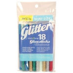 """Ad Tech™ MultiTemp 4"""" Mini Glitter Glue Sticks: 4"""", Permanent, (model AT313-3418), price per pack"""
