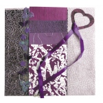 "Blue Hills Studio™ Treasure Chest™ Paper Collection Embellishment Pack Amethyst; Color: Purple; Material: Paper; Size: 12"" x 12""; Type: Dimensional; (model BHS200), price per pack"