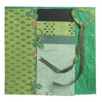 "Blue Hills Studio™ Treasure Chest™ Paper Collection Embellishment Pack Emerald; Color: Green; Material: Paper; Size: 12"" x 12""; Type: Dimensional; (model BHS201), price per pack"