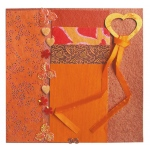 "Blue Hills Studio™ Treasure Chest™ Paper Collection Embellishment Pack Fire Opal; Color: Orange; Material: Paper; Size: 12"" x 12""; Type: Dimensional; (model BHS202), price per pack"