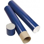"Alvin® Indigo Fiberboard Tubes 43""; Color: Purple; Diameter: 5 1/2""; Length: 43""; Material: Fiberboard; (model T420-43/BX), price per box"
