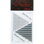KellyCraft EZ-De's Tri Triangle Stamp: Set A