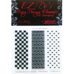 KellyCraft EZ-De's Rails Stamp: Set A