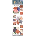 "Blue Hills Studio™ Irene's Garden™ Seed Packet Fabric Stickers Red White & Blue: Multi, 9"", Flat, (model BHS011), price per each"