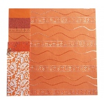 "Blue Hills Studio™ Treasure Chest™ 12 x 12 Paper Collection Fire Opal; Color: Orange; Size: 12"" x 12""; (model BHS102), price per pack"