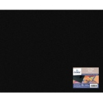 "Canson® Mi-Teintes® Solid Black Art Board 16"" x 29"" : Black/Gray, Sheet, 16"" x 20"", Illustration Board, (model C400024149), price per sheet"