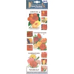 "Blue Hills Studio™ Irene's Garden™ Seed Packet Fabric Stickers Red: Red/Pink, 9"", Flat, (model BHS013), price per each"