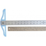 "Fairgate® Cork Backed Standard T-Square 36"": Aluminum, 36"", T-Square, (model CBT36), price per each"