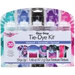Tulip® One-Step Tie-Die Kits™ Carousel: Multi, Kit, Dye-Based, (model D31677), price per kit