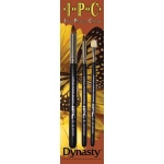 Dynasty® IPC IPC Artist Brush 3-Brush Set LPB SPB & SOF: Long Handle, Small Point Blend, Acrylic, (model FM23595), price per set