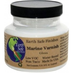 Earth Safe Finishes™ Marine Gloss Varnish; Finish: Gloss; Size: 8 oz; Type: Varnish; (model MARVARNG8), price per each