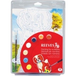 "Reeves™ Color & Shape Painting by Number Dog Set; Color: Multi; Size: 9 3/4"" x 13""; (model PBNCS1), price per set"
