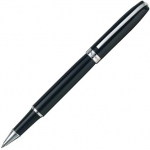 X-Pen® Legend Rollerball Black/Silver Pen: Black/Gray, Ceramic, Rollerball, (model XP406R), price per each