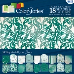 """Blue Hills Studio™ ColorStories™ 12 x 12 Paper Pack Green; Color: Green; Size: 12"""" x 12""""; Weight: 45 lb; (model BHS10301), price per pack"""