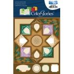 "Blue Hills Studio™ ColorStories™ Cardstock Stickers Brown: Brown, Cardstock, 4 3/4"" x 5 3/4"", Flat, (model BHS10614), price per each"