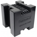 Derwent XL Block Groove Cube: Black/Gray, Tool, (model 2302023), price per each