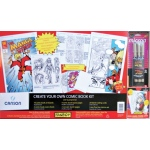 "Canson® FanBoy™ Create Your Own Comic Book Kit; Color: White/Ivory; Format: Book; Size: 7"" x 11""; (model C100510884), price per each"