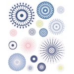 """Blue Hills Studio™ ColorStories™ Cardstock Stickers Blue; Color: Blue; Material: Paper; Size: 4 3/4"""" x 5 3/4""""; Type: Flat; (model BHS10405), price per each"""