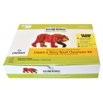 "Canson® The World of Eric Carle® Brown Bear Brown Bear Brown Bear Brown Bear Create Your Own Story Book Class Packs: Book, 5 1/2"" x 8 1/2"", (model C100511044), price per each"
