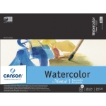 "Canson® Montval® Artist Series 18"" x 24"" Cold Press Watercolor Pad (Fold Over); Binding: Fold Over; Color: White/Ivory; Format: Pad; Quantity: 12 Sheets; Size: 18"" x 24""; Texture: Cold Press; (model C100511055), price per 12 Sheets pad"