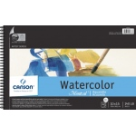 "Canson® Montval® Artist Series 10"" x 15"" Cold Press Watercolor Pad (Top Wire): Wire Bound, White/Ivory, Pad, 12 Sheets, 10"" x 15"", Cold Press, (model C100511059), price per 12 Sheets pad"