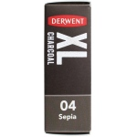 Derwent XL Sepia (04) Charcoal Block: Brown, Block, Block, (model 2302014), price per each