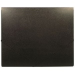 "Heritage Arts™ 14"" x 17"" Deluxe Art Portfolio; Color: Black/Gray; Gusset Size: 7/16""; Material: Polypropylene; Size: 14"" x 17""; (model HDAP1417), price per each"