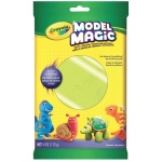 Crayola® Model Magic® 4oz Single Pack Neon Green; Color: Green; Material: Clay; Size: 4 oz; Type: Modeling Clay; (model 57-0095), price per each