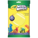 Crayola® Model Magic® 4oz Single Pack Neon Yellow; Color: Yellow; Material: Clay; Size: 4 oz; Type: Modeling Clay; (model 57-0096), price per each