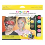 Snazaroo™ Face Painting Studio Set: Multi, Pad, Face Painting, (model 1180018), price per set