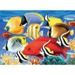 "Royal & Langnickel® Painting by Numbers™ 11 1/4 x 15 3/8 Junior Large Set Tropical Fish: 11 1/4"" x 15 3/8"", (model PJL30), price per set"