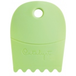 Princeton™ Catalyst™ Contour Shape 22 Green; Material: Silicone Synthetic Bristle; Shape: Contour; Type: Acrylic, Oil; (model C-22), price per each