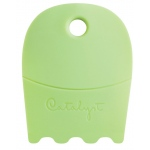 Princeton™ Catalyst™ Contour Shape 21 Green; Material: Silicone Synthetic Bristle; Shape: Contour; Type: Acrylic, Oil; (model C-21), price per each
