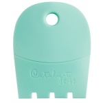 Princeton™ Catalyst™ Contour Shape 63 Mint; Material: Silicone Synthetic Bristle; Shape: Contour; Type: Acrylic, Oil; (model C-63), price per each