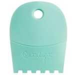 Princeton™ Catalyst™ Contour Shape 64 Mint: Silicone Synthetic Bristle, Contour, Acrylic, Oil, (model C-64), price per each