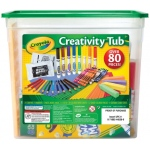 Crayola® Creativity Tub; Color: Multi; Type: Creativity Tub; (model 04-5358), price per set