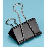 "Alvin® Binder Clips 2""; Color: Black/Gray; Size: 2""; (model 100260), price per box"