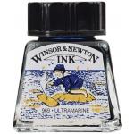 Winsor & Newton™ Drawing Ink 14ml Ultramarine: Blue, Bottle, 14 ml, Drawing Ink, (model 1005660), price per each