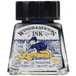 Winsor & Newton™ Drawing Ink 14ml Ultramarine; Color: Blue; Format: Bottle; Size: 14 ml; Type: Drawing Ink; (model 1005660), price per each