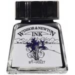 Winsor & Newton™ Drawing Ink 14ml Violet: Purple, Bottle, 14 ml, Drawing Ink, (model 1005688), price per each
